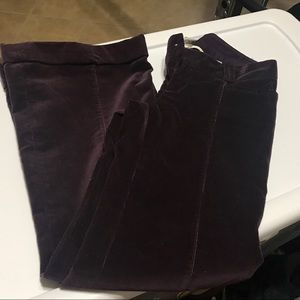 Banana Republic corduroy pants with wide leg